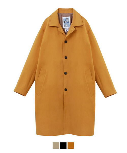 High Density Cotton Over Single Coat Yellow