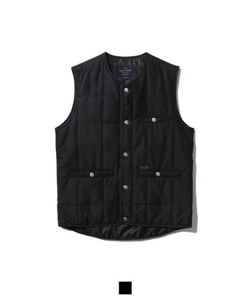 2oz Quilting Vest Black