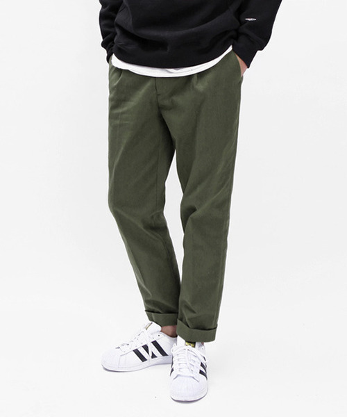 Regular Cotton Pants Khaki