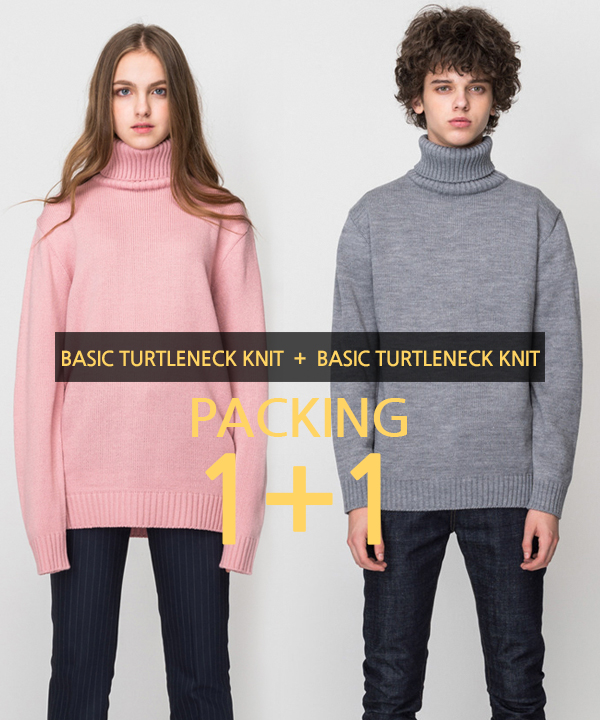 [1+1] Basic Turtleneck Knit #1