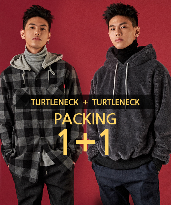 [1+1] Turtleneck T-Shirt