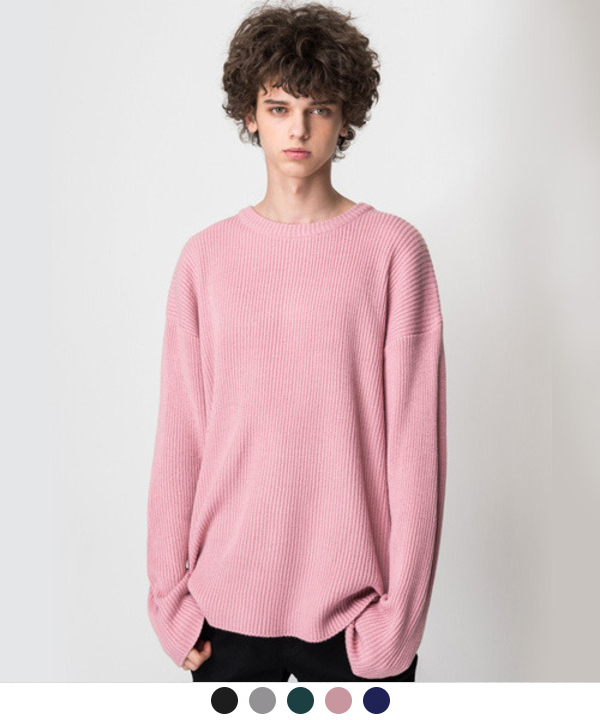 Over Round Knit #1