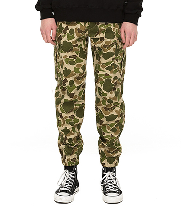 CLOUD CAMO JOGGER PANTS