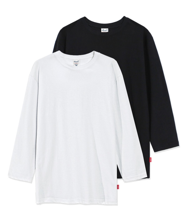 [5월8일예약배송][1+1] 7부 Regular Fit MuJi T-shirts