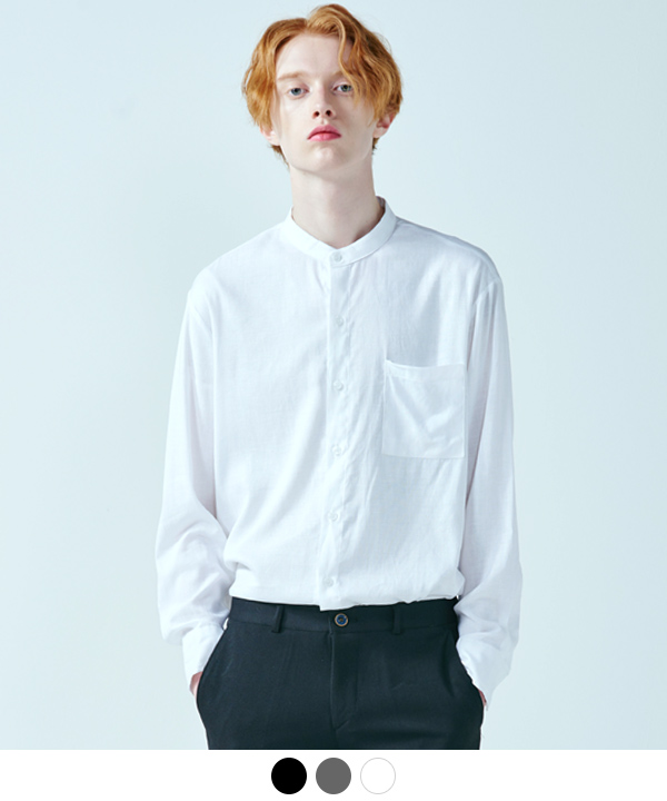 FLIMSY LINEN CHINA NECK SHIRTS