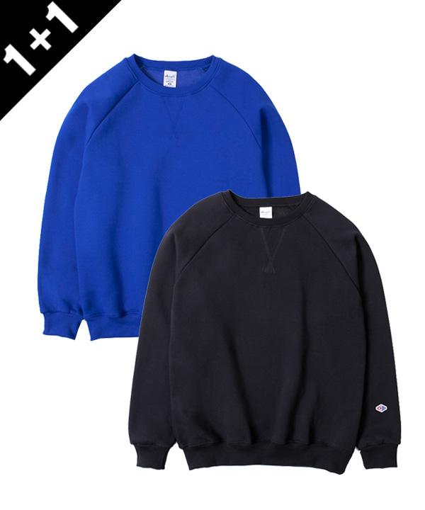 [1+1][기모]NEW 650g TUMBLE NAPPING SWEATSHIRTS