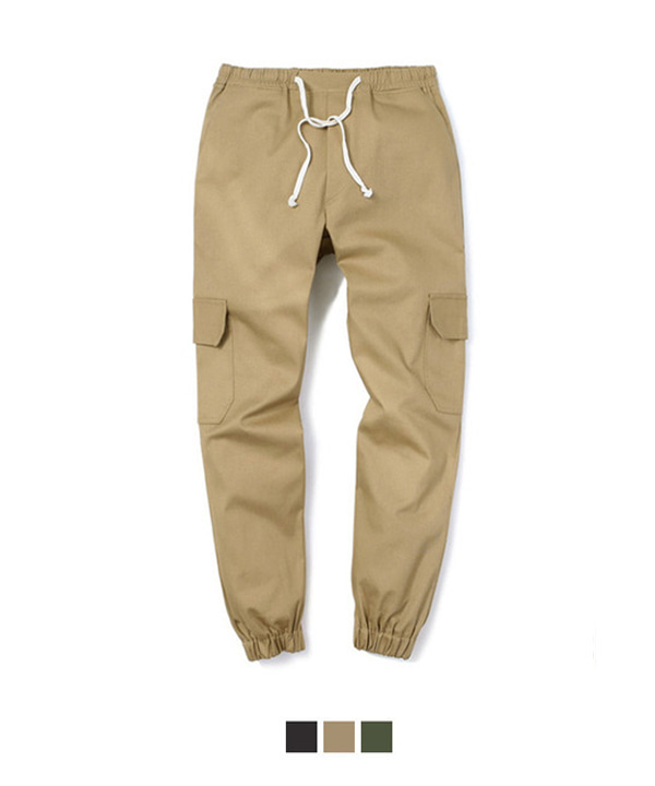 [4월13일 예약발송]COTTON CARGO REGULAR PANTS